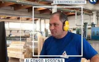 """""""Felice di riavere il mio lavoro"""": la bella storia di Alfonso Assogna<br /><br />Online sul po"""
