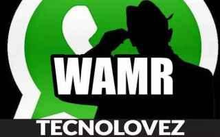 App: wamr  recuperare i messaggi