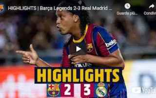 Calcio Estero: barcellona real madrid video calcio gol