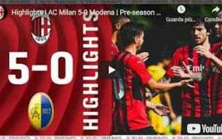 Serie A: milan video calcio sport gol highlights