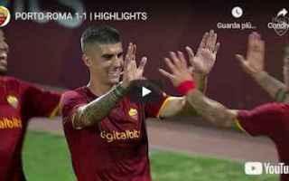 Serie A: roma video calcio sport gol highlights
