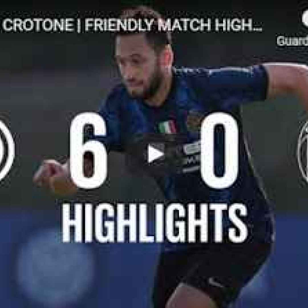 inter video calcio sport gol highlights