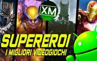 Tecnologie: supereroi marvel dc comics android