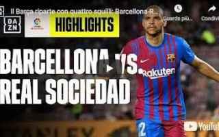 Calcio Estero: barcellona video spagna calcio laliga