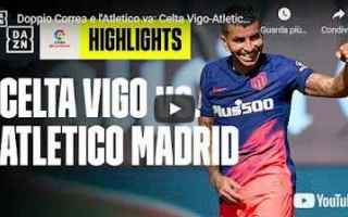 Calcio Estero: atletico madrid video calcio spagna