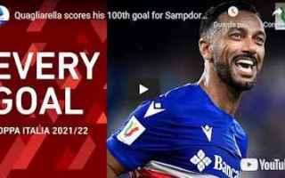 Coppa Italia: video gol calcio sport italia