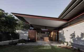 Architettura: บ้านทรงหมาแหงน Banksia House