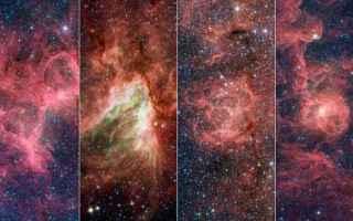 Astronomia: stelle  via lattea