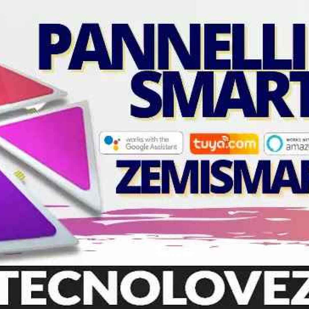 pannelli led  smart zemismart smarthome