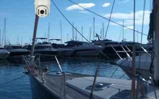 Tecnologie: telecamere  barche  accessori nautica