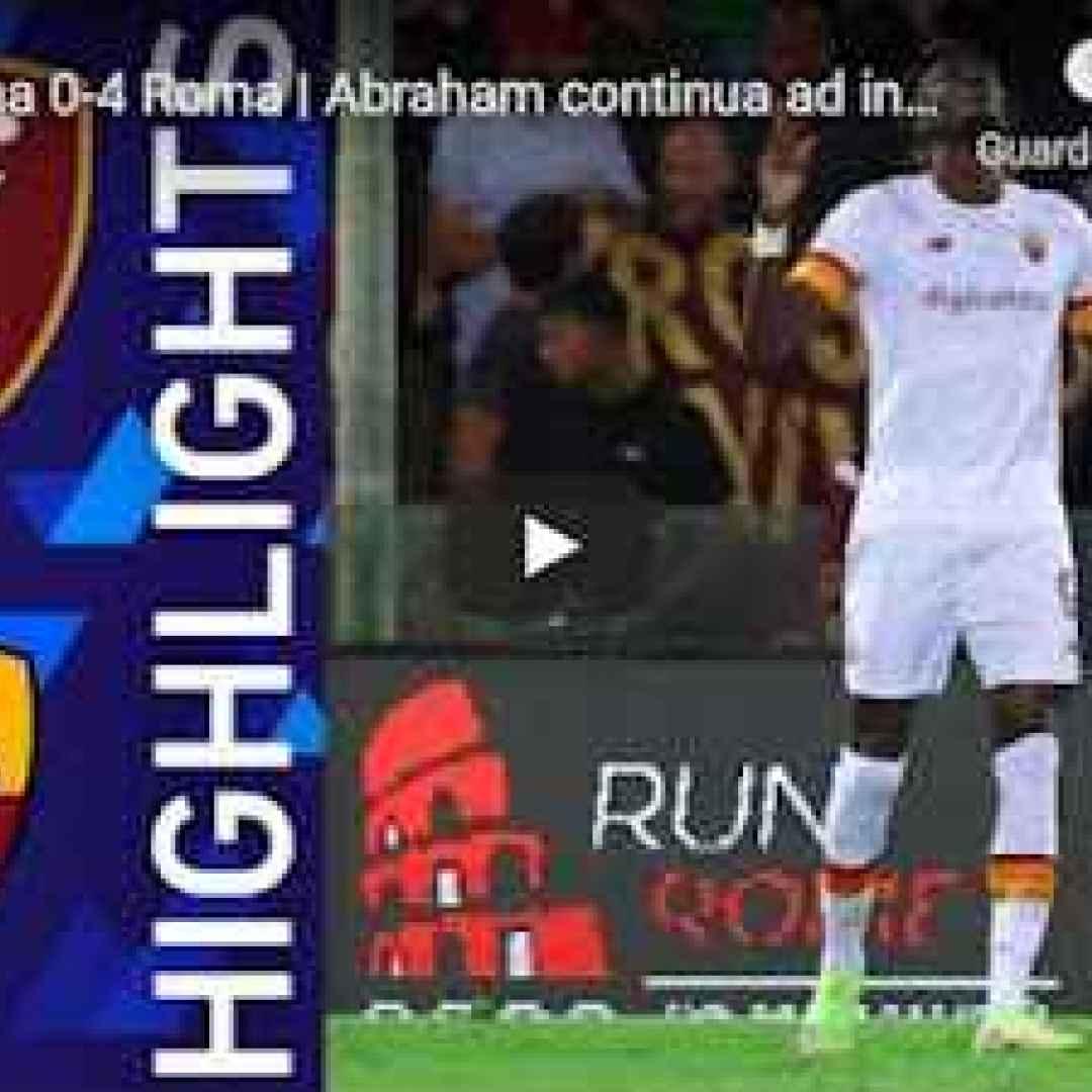salernitana roma video calcio sport gol