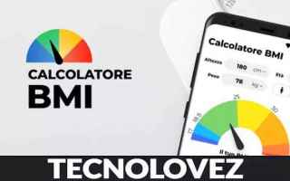 App: calcolatore bmi applicazione