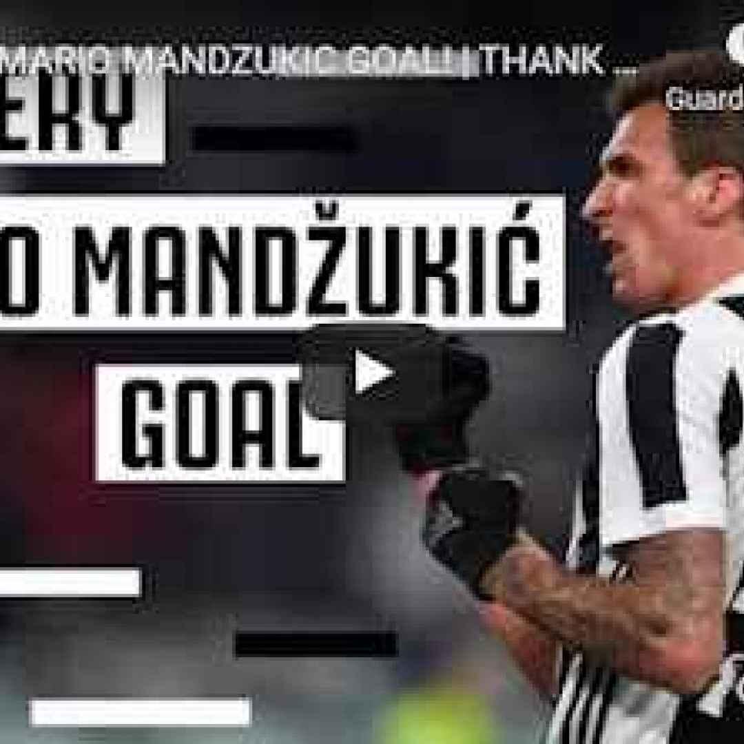 juventus juve calcio video mandzukic gol
