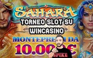 Giochi Online: wincasino top slot torneo  gare di slot