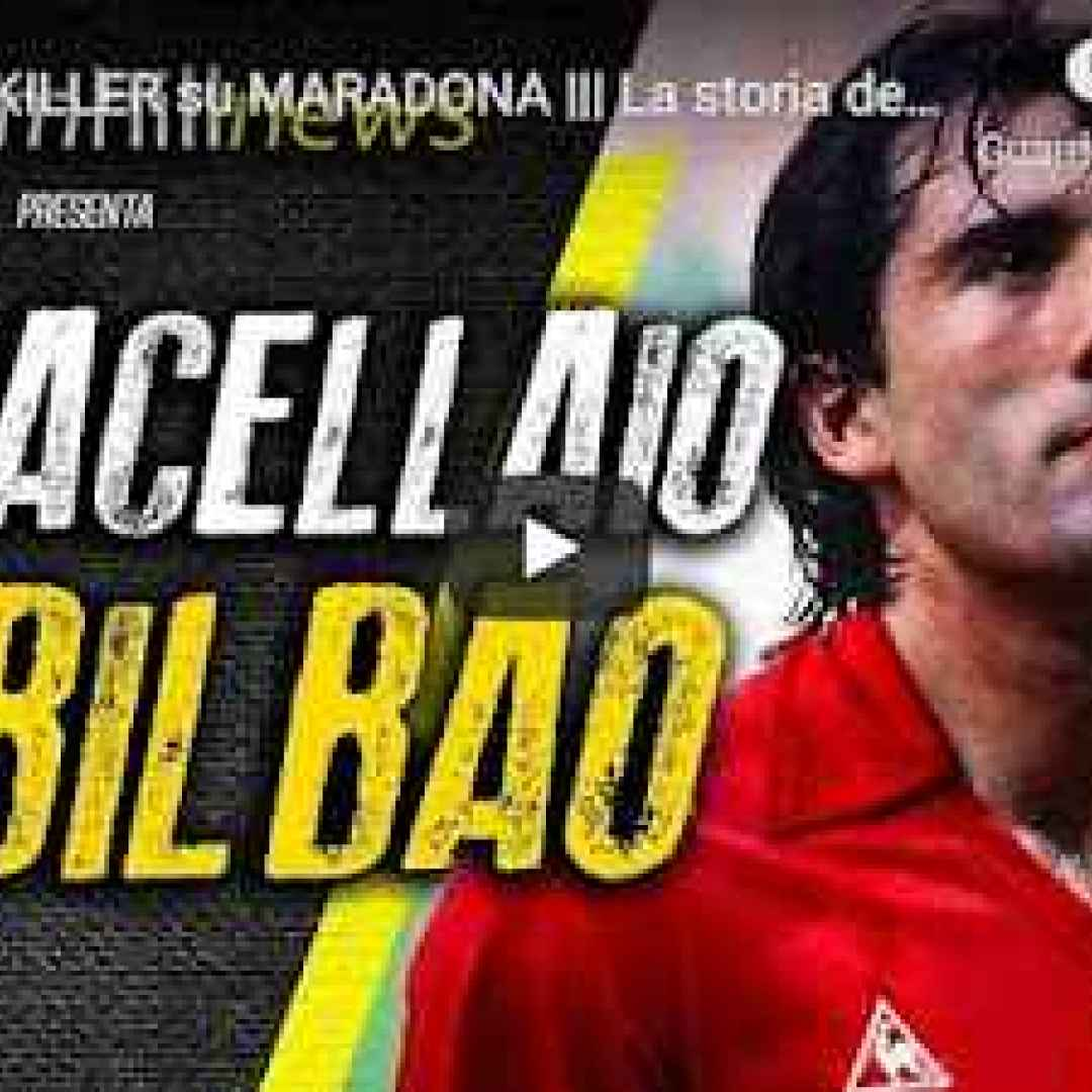 maradona video storia calcio spagna