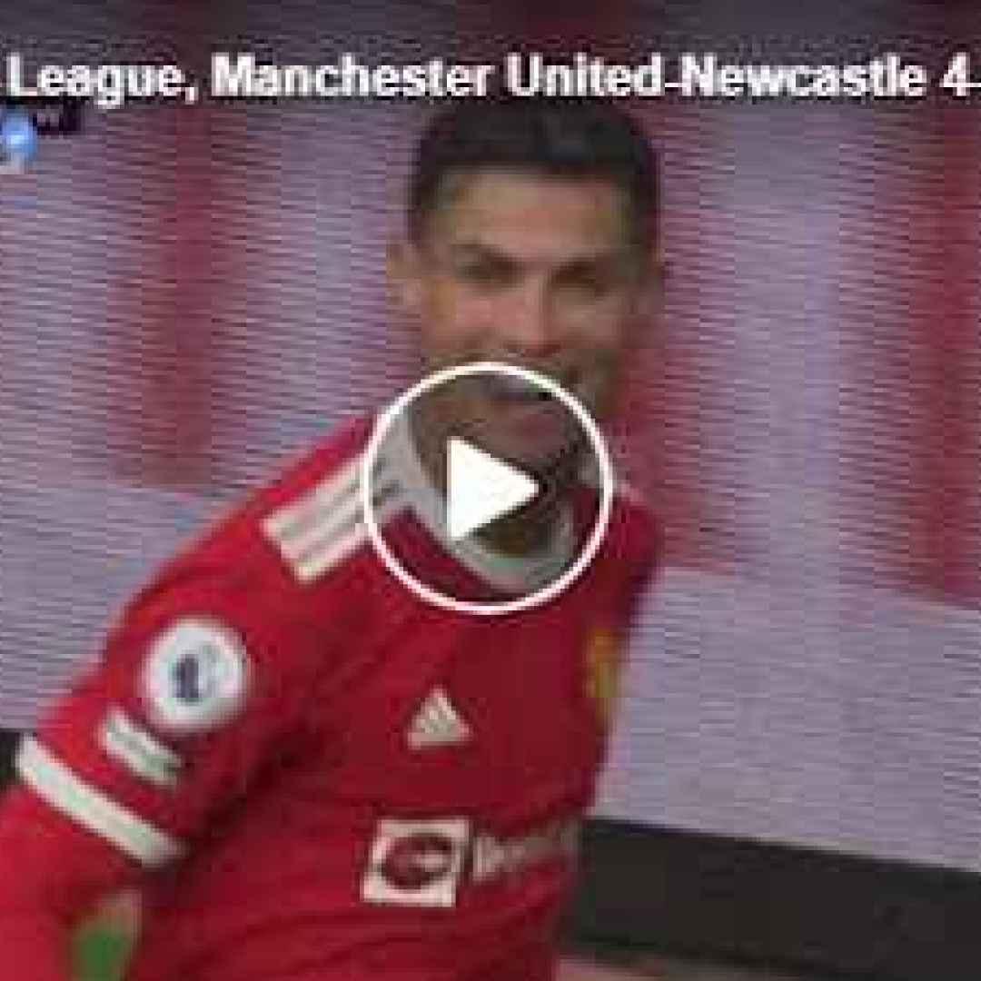 manchester inghilterra video calcio cr7