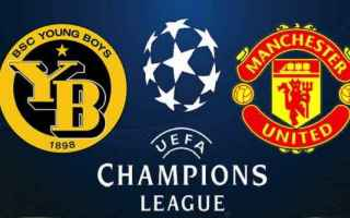 Champions League: young boys - manchester united