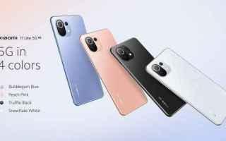Cellulari: xiaomi 11 lite 5g ne  xiaomi  smartphone
