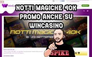 Giochi Online: slot online  notti magiche   wincasino
