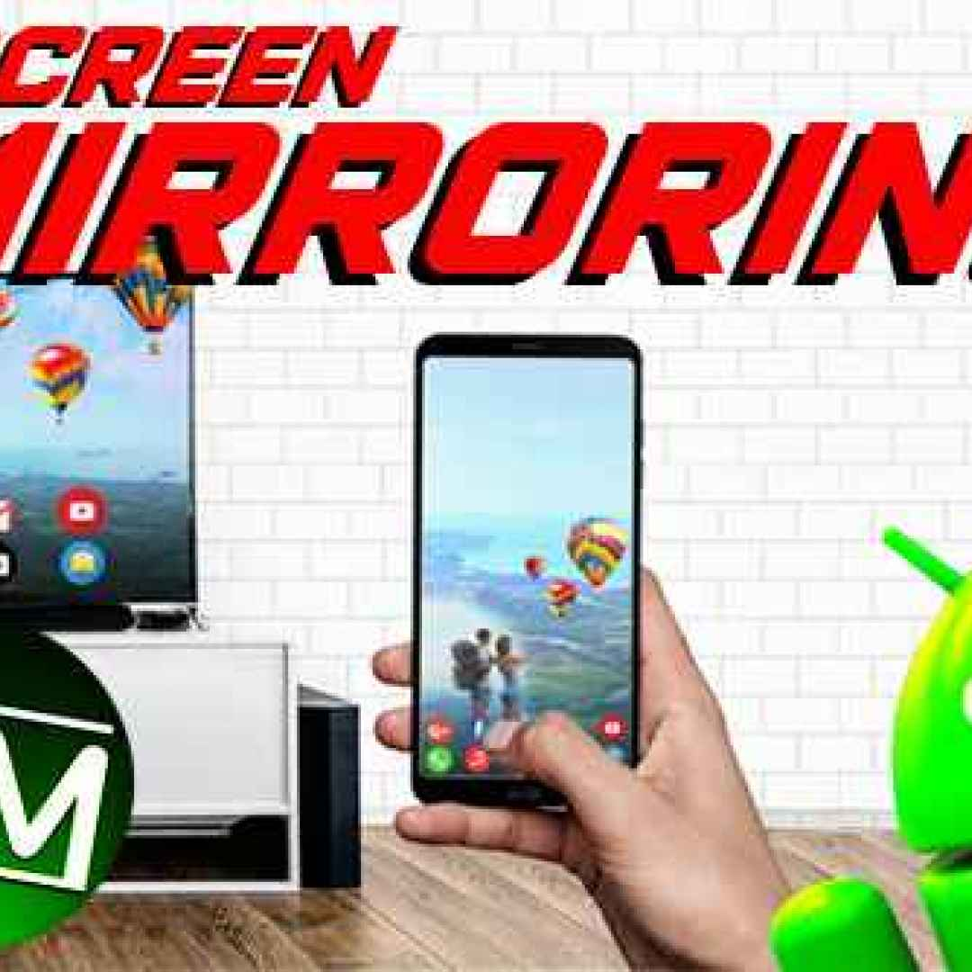 miracast android screen mirroring tv app