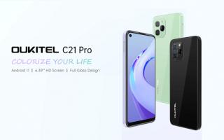 Cellulari: oukitel c21 pro  oukitel  iphone 13 pro