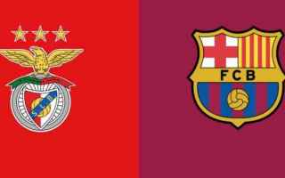 benfica-barcellona  champions