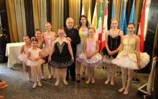 Arte: Grande successo per le ballerine della Tanzschule Chiara Matt dirette da Roberta Di Laura