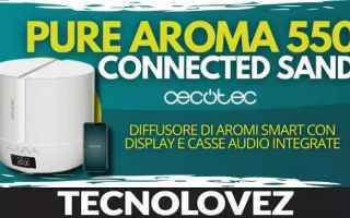pure aroma 550 connected sand cecotec