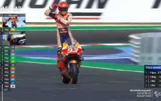 A Misano Marc Marquez conquista la terza vittoria stagionale. Lo spagnolo si è aggiudicato il Gran